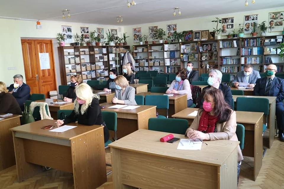 Розширене онлайн засіданні колегії управління освіти і науки Тернопільської ОДА