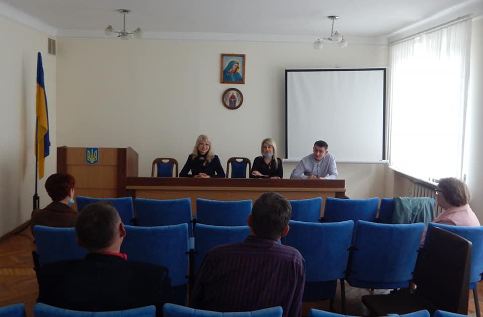 Засідання координаційної  ради з питань національно-патріотичного виховання при відділі освіти Заліщицької міської ради