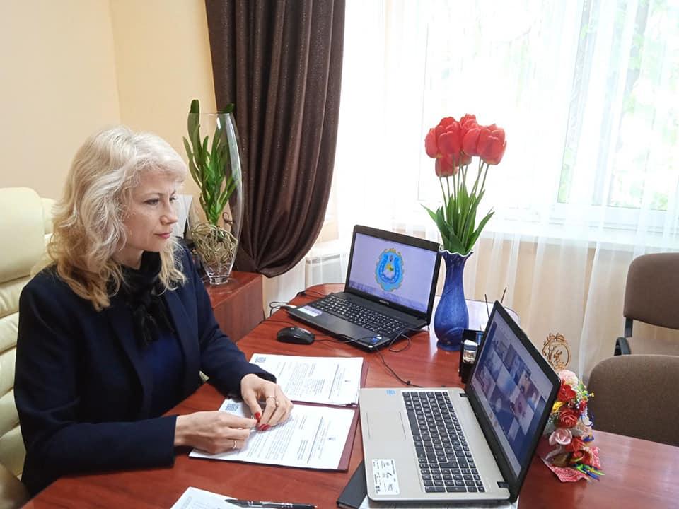 Онлайн-нарада з учителями навчальної дисципліни «Захист України»