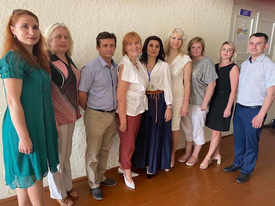 Робочий візит працівників Управління Державної служби якості освіти в Тернопільській області